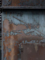 Photograph of Rust and Patterns on Metal